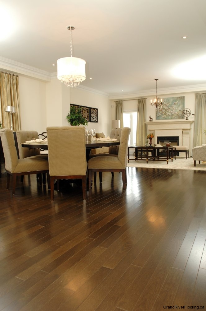 Dining Rooms With Hardwood Floors