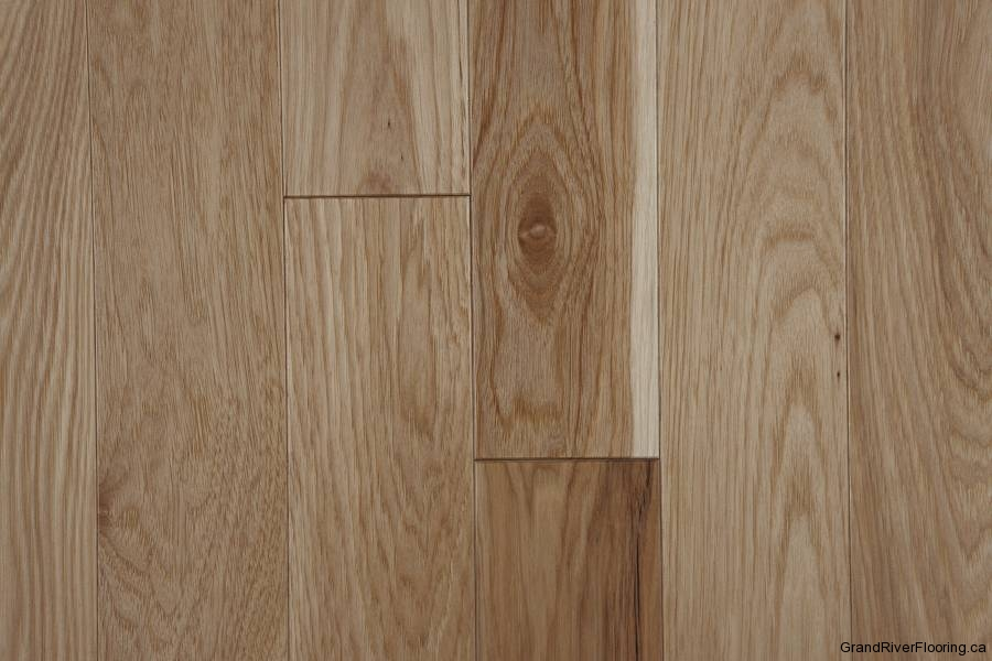 Hickory natural character hardwood flooring floor sample for Types of hardwood floors
