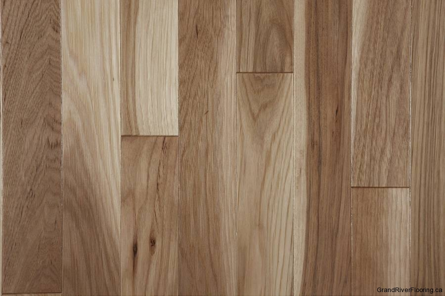 Hardwood Floor Samples flooring Hickory Natural Character Narrow Hardwood Flooring
