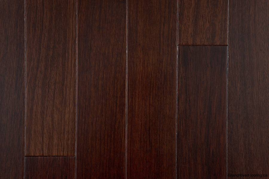 Dark Hardwood Flooring In Kitchen
