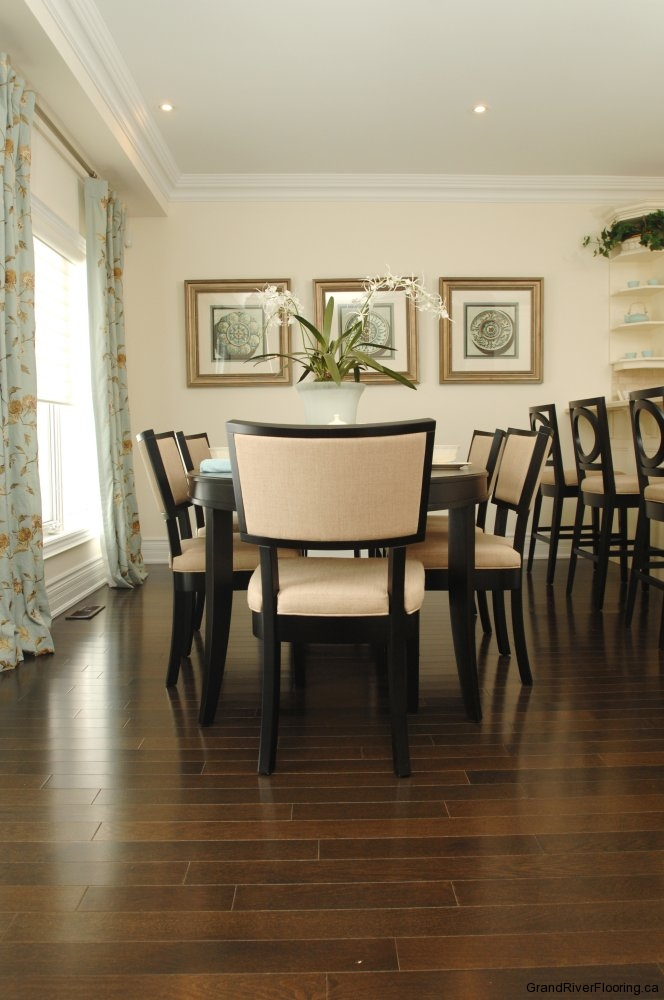 Dark Hardwood For Dining Room