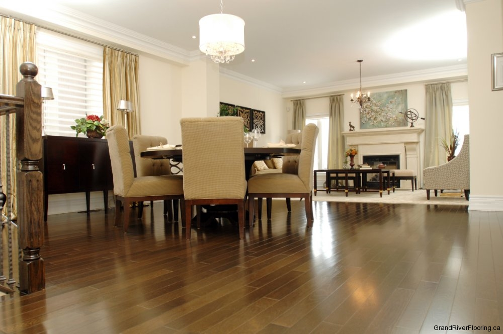 Hardwood flooring in coscorp milton model 1 superior for Model home flooring